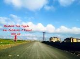 HADIMKÖYDE KANAL İSTANBUL MANZARALI 400 M2 ARSA